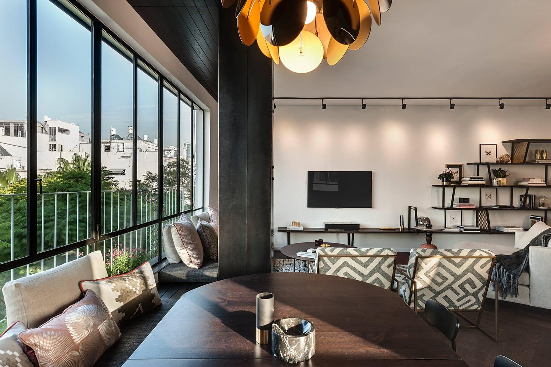 דירה בתל-אביב – הפרופיל הבלגי ממשיך את העיצוב המוקפד של אושרי ודנה