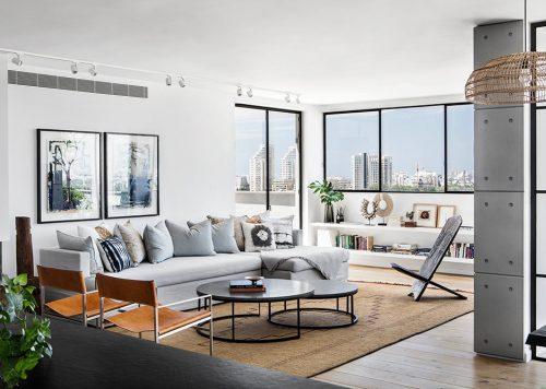 Tel Aviv Penthouse – When Classic meets Clean
