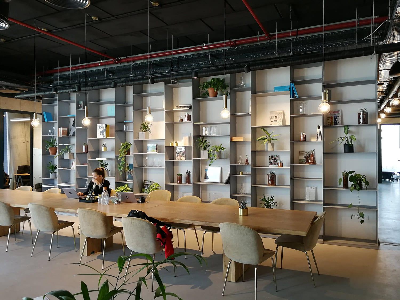 חללי העבודה של LABS במגדלי שרונה תל-אביב