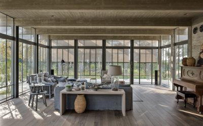 Steel, Concrete and Wood – In Perfect Harmony