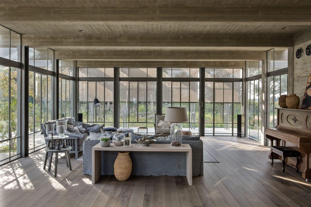 בית בבית הלוי - ברזל, בטון ועץ - בהרמוניה מושלמת