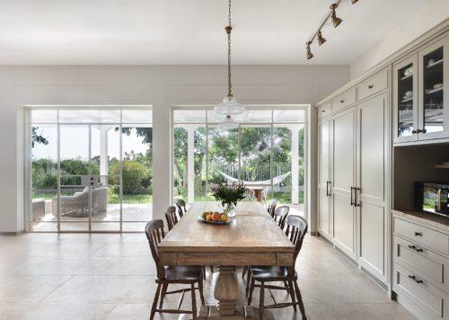 White Steel-Windows & Doors with Roller-Shutters