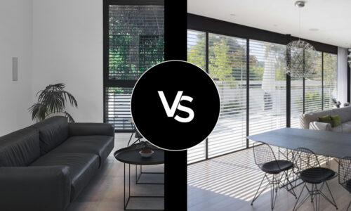 השוואה בין חלונות ברזל לעץ ולאלומניום