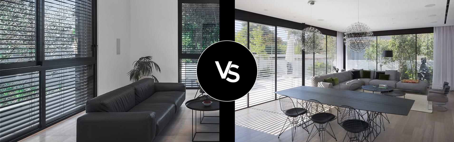 השוואה בין חלונות ברזל לחלונות אלומיניום ולחלונות עץ מבחינת איטום ורטיבות, בידוד ואקוסטיקה, תחזוקה וניקיון | תובל מינימל