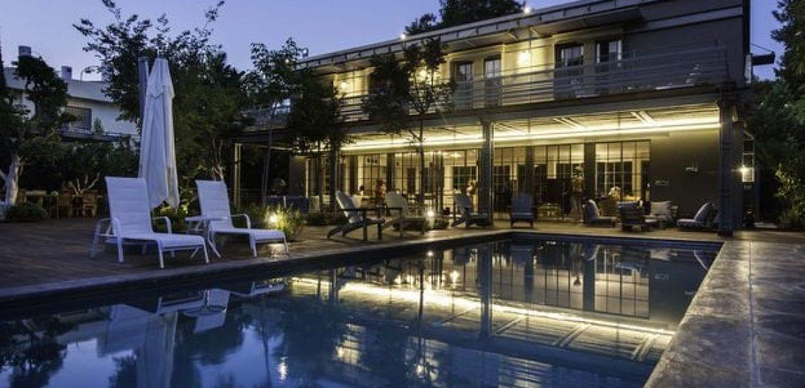 בית בסביון – ברזל בעיצוב קלאסי